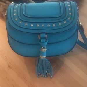 Charming Charlie Turquoise Purse